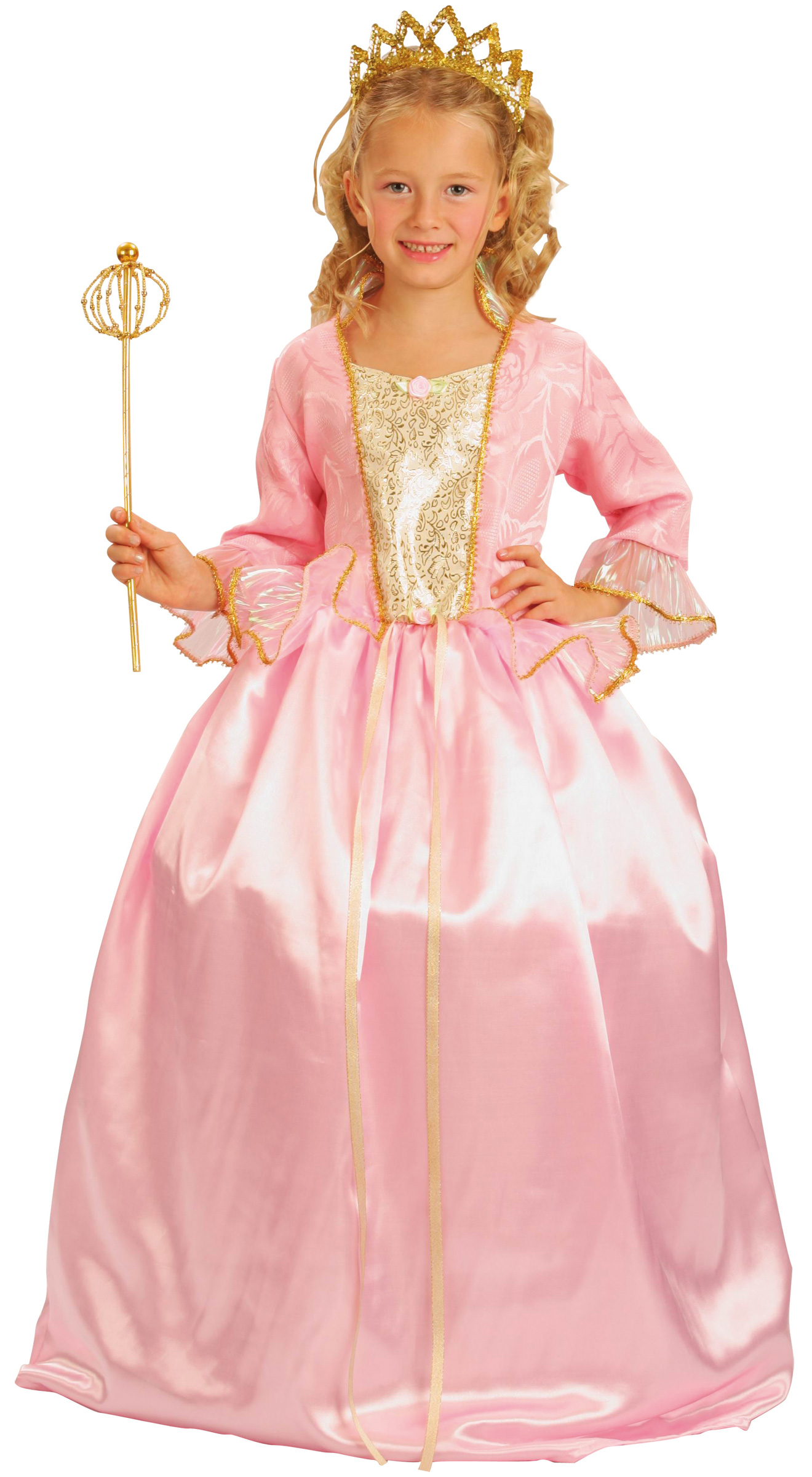 Anmutige Prinzessin Kinderkostüm Fee rosa Cod.172227