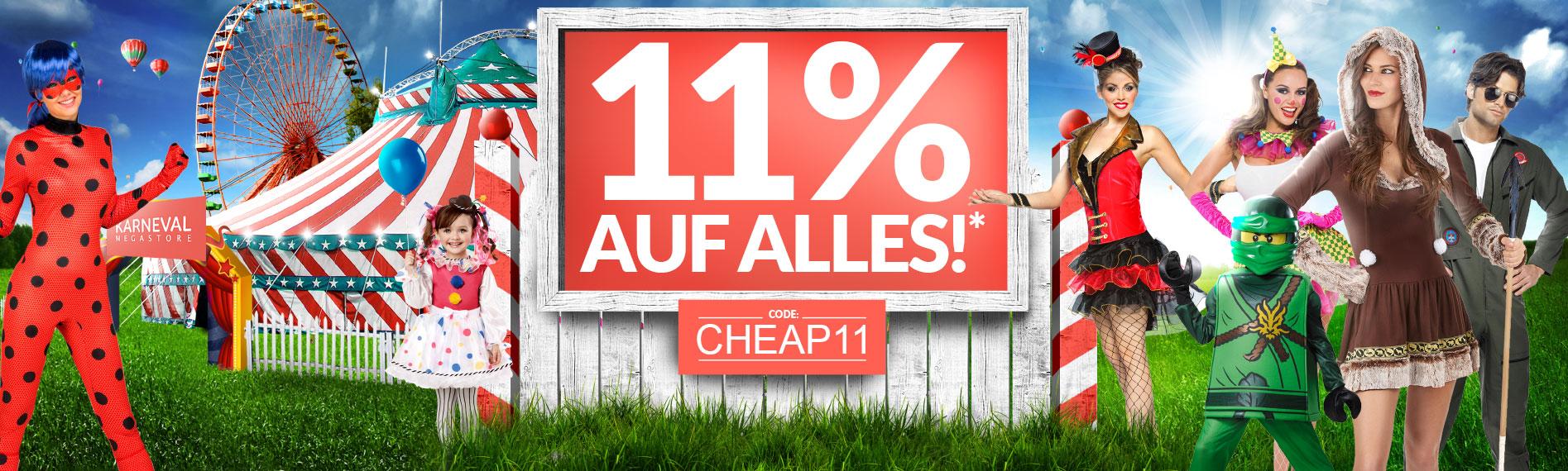 11% Rabatt