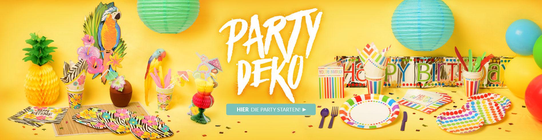 Partydeko