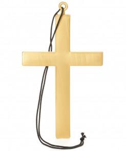 Kreuz Halskette gold 23x13cm