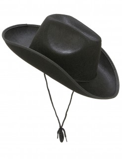 Cowboy-Hut Western-Hut schwarz