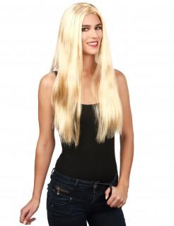 Zauberhafte Hexe Halloween Langhaar-Perücke blond