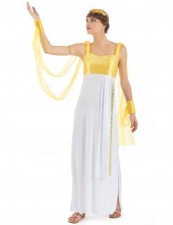 Griechische Göttin - Damenkostüm weiß-golden