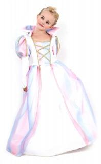 Bezaubernde Prinzessin Kinderkostüm Königin weiss-gold