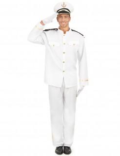 Kapitän der Marine Kostüm für Herren