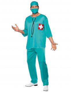 Chirurg Kostüm Doktor türkis