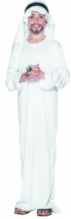 Scheich Kinderkostüm Araber weiss