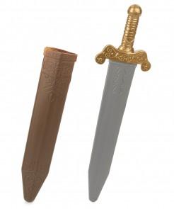 Römer Schwert gold-silber 50cm