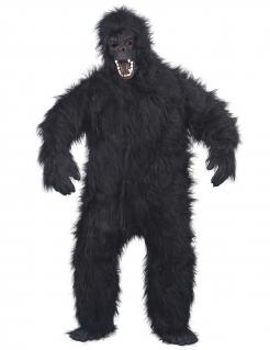 Gorilla Tierkostüm schwarz