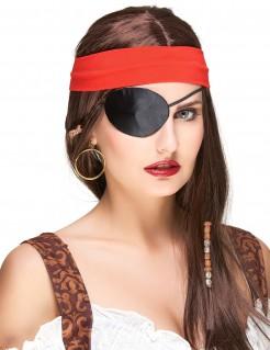 Piraten Augenklappe schwarz