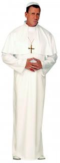 Papst Herrenkostüm Kirche weiss