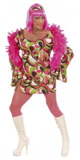 Drag Queen Disco XL grün-pink-schwarz