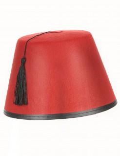 Fes Hut Orient rot-schwarz