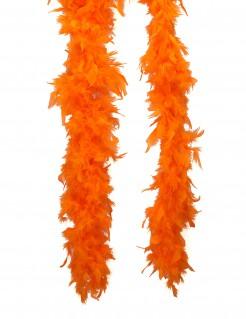 Federboa Kostüm-Accessoire orange