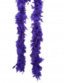 Feder Boa lila 80g 180cm