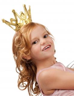 Krone für Prinzessinnen gold