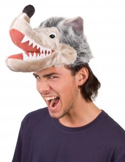 Lustige Wolfsmütze