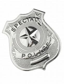 Polizei Abzeichen silber