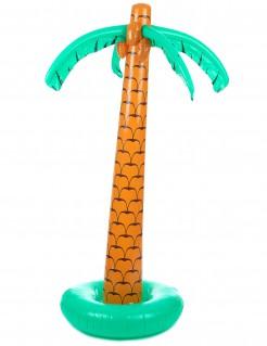 Aufblasbare Palme Sommerparty-Deko braun-grün 180cm