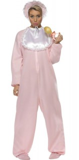 Baby Strampler Damenkostüm rosa