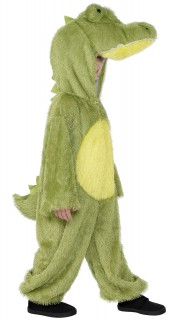 Krokodil Kinderkostüm Drache hellgrün