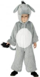 Esel Kinder-Kostüm grau-weiss