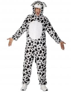 Dalmatiner Plüschkostüm Tierkostüm unisex schwarz-weiss