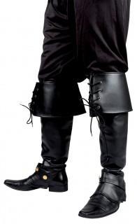 Stiefelstulpen Pirat schwarz