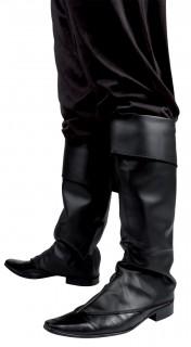Piratin Stiefelstulpen schwarz