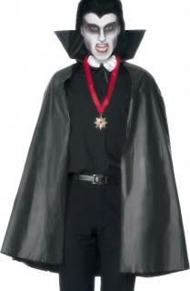 Halloween-Vampirumhang Accessoire für Erwachsene schwarz