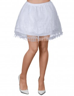 Sexy Petticoat Tutu weiss
