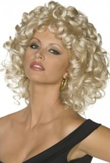 Grease™-Perücke Damenperücke blond