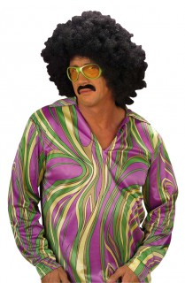 Disco Shirt grün-bunt
