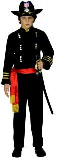 General Kinderkostüm blau-rot-gold