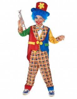 Süsser Clown Kinderkostüm Zirkus bunt