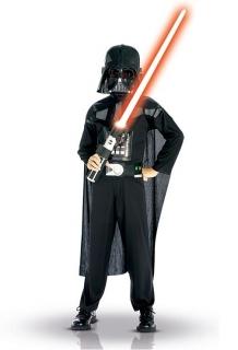 Darth Vader Kinderkostüm Star Wars Lizenzkostüm schwarz-bunt