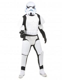 Offizielles Stormtrooper-Erwachsenenkostüm Star Wars weiß