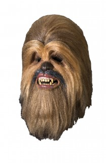 Chewbacca-Maske Star Wars™ Kostüm-Zubehör braun