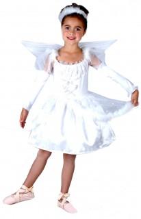 Niedliches Engel Kinderkostüm weiss