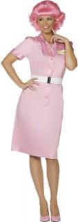 50er Jahre Kellnerin Damenkostüm pink