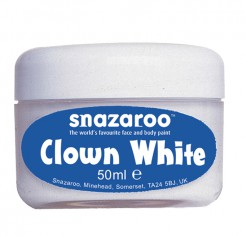 Snazaroo Clownsschminke Karneval-Make-up weiss 50ml