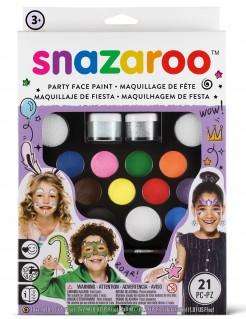 Snazaroo™-Kinderschminkset für Karneval und Fasching 20-teilig bunt