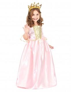Anmutige Prinzessin Kinderkostüm Fee rosa