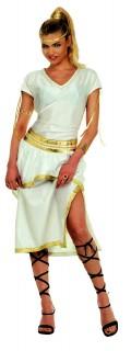 Griechin Kostüm weiss-gold