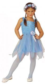 Zauberhafte Fee Kinderkostüm blau