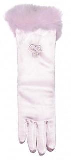 Prinzessinnen Kinder-Handschuhe Kostümzubehör rosa