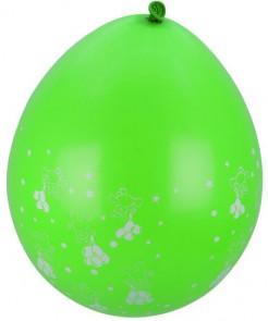 Party-Ballons mit Teddy-Motiv 8 Stück grün