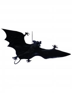 Halloweenfledermaus zum Aufhängen schwarz