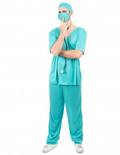 Arztkostüm Doktor-Kostüm türkis