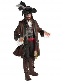 Karibik-Piratenkostüm Herren - braun